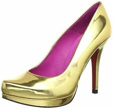 Escarpins heels shoes  pumps or Gold  38 size 5