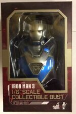 Iron Man Blue Steel Iron Man 3 MKXXX Collectible Bust 1:6 Scale by Hot Toys
