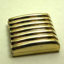 Vintage Estee Lauder Powder Compact Square Ribbed