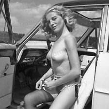 8x10 Print Sexy Model Pin Up Dirty Blonde Beauty 1968 #M39