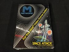 Space Attack (Atari 2600, 1982) M Network Brand New Factory Sealed