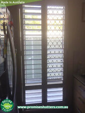 MASSIVE SALE ON CUSTOMER MADE PLANTATION SHUTTERS - solid Vinly SHUTTERS