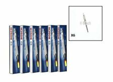BMW E60 E61 525d,530d,535d engs Glow Plugs Set of 6 BOSCH BMW oe no.12237786869