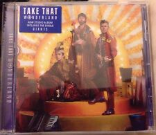 TAKE THAT WONDERLAND CD ALBUM UNPLAYED (New Release March 24th, 2017)