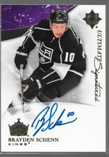 10/11 Ultimate Collection Signatures Auto Rookie Brayden Schenn US-BS Kings