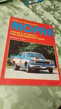 MOPAR The Performance Years Volume II First Edition