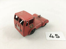 RARE BUDGIE TOYS #232 SEDDON DIESEL TRACTOR UNIT BRITISH RAILWAYS LOW LOADER