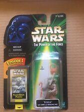 Star Wars Yoda Flashback Photo Action Figure with cane & boiling pot MOC
