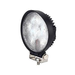 Durite 0-420-45 x 3W LED Work Lamp with 300mm Flying Lead - Black, 12V/24V, IP67
