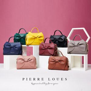 Cute Women Leather Bow Shoulder Bag Phone Card Comestic Handbag Crossbody Purse