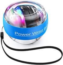 TimeSport Upgraded Auto-Start Power Wrist Ball Spinner Gyro Hand Grip Strengthen