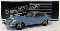 Small Wheels 1/43 Scale SW11 - 1961-62 E-Type Jaguar FHC - Blue