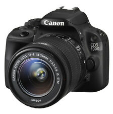 Canon EOS 100D 18.0 MP SLR Camera with 18-55mm STM Lens Kit Black