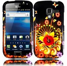 For Samsung Galaxy Exhilarate i577 HARD Protector Case Phone Cover Shine Flower