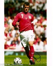 Manchester United England David Beckaham Autographed Signed 8x10 Photo COA