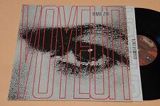 RENATO ZERO LP VOYEUR 1°ST ORIGINALE 1989+INNER TESTI TOP EX