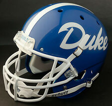 DUKE BLUE DEVILS 1979-1980 Schutt AiR XP Gameday REPLICA Football Helmet