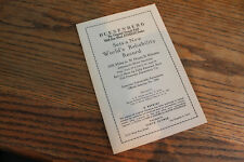 1923 Duesenberg World Reliability Record brochcure, Floyd Clymer reprint, mint