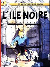 HOMMAGE A HERGE TINTIN L'ILE NOIRE + LE VOL MYSTERIEUX