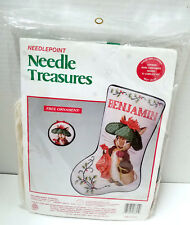 Needle Treasures 06845 Benjamin Bunny Needlepoint Christmas Stocking Kit Sealed