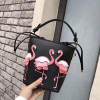 Women's By the Pool Flamingos Pippa Satchel Crossbody Bag