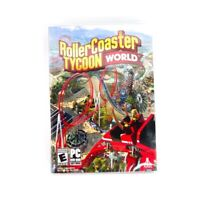 Roller Coaster Tycoon World (PC) 2016 DVD-Rom Windows Computer Game SEALED NEW