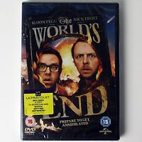The World's End (DVD, 2013 Universal) Simon Pegg, Nick Frost - New & Sealed