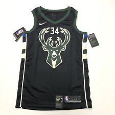 Nike Giannis Antetokounmpo Milwaukee Bucks Swingman Jersey 877212 010 Mens Small