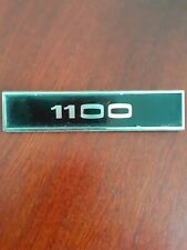 MK1 Ford Escort 1100 Black And Chrome Front  Wing Badge