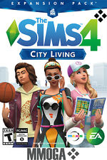 The Sims 4 City Living - EA Origin Expansion Code - PC & MAC Game Key - CA/US