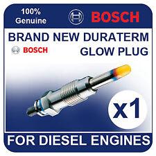 GLP001 BOSCH GLOW PLUG PEUGEOT 605 2.1 Diesel Turbo 94-99 [Y30] P8C 107-108bhp