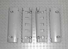 LEGO Technic - 4x Panel Paneel Verkleidung gebogen 11x3 neu hellgrau 62531 42043