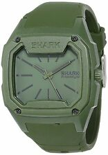 Freestyle Killer Shark 101075 Olive Green Drab Silicone Band Analog Quartz Watch