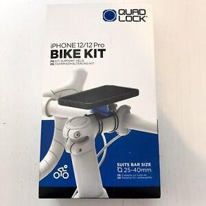 Quad Lock Stem Mount Bike Kit, For iPhone 12 / 12 Pro