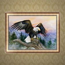 5D DIY Eagle Diamond Embroidery Painting Rhinestone Cross Stitch Home Decor Gift
