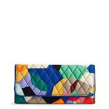 Vera Bradley Trifold Wallet in Pop Art
