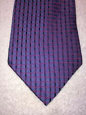 """LORD & TAYLOR MENS TIE PURPLE AND PINK 58.25"""" X 4"""""""