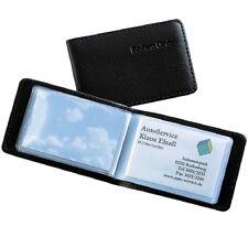100my Stark Visitenkarten-Tasche Lochung 10x A4 Visitenkartenhüllen glasklar