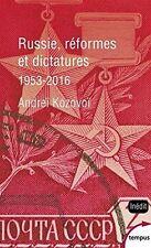 RUSSIE, REFORMES ET DICTATURES D'ANDREI KOSOVOI - LIVRE NEUF