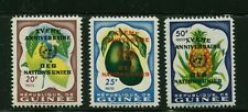 GUINEA  SCOTT# 211-213  MNH FRUIT/UNITED NATIONS TOPICAL