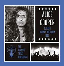 ALICE COOPER New 2018 UNRELEASED LIVE 1980 EL PASO CONCERT 2 VINYL RECORD SET