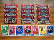 13 paquetes de Topps Match Attax Inglaterra 2010 Trading Cards. Maldini Rommedahl