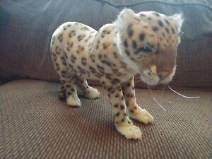 Posable Plush HANSA Anatolian Leopard Stuffed Animal - Original Tags