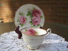 Royal Albert  American Beauty Cup and Saucer Discontinued Pattern