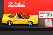 LAST ONE - Honda NSX Type T - New Indy Yellow Pearl - HPI #8310 1/43 - Acura NSX