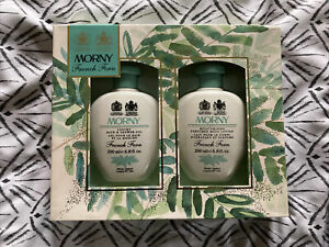 New Morny French Fern Gift Set 200ml Shower Gel And 200ml Body Lotion