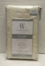 Wamsutta     525 Thread Count Pimacott PILLOWCASES QUEEN SOLID IVORY