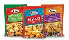 3x Jamaica Grace Johnny Cakes, Festival & Salt Fish Fritters Mix