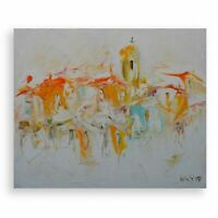Dreams, Original Oil Painting, Abstract on Canvas Painted Artwork
