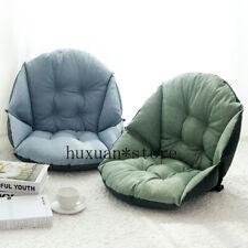 Linen Upholstery Thick Seat Cushion Office Waist Cushion Computer Chair Cushion